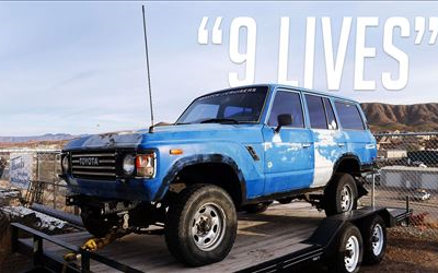 "Toyota FJ60 ""9 Lives"" Build"