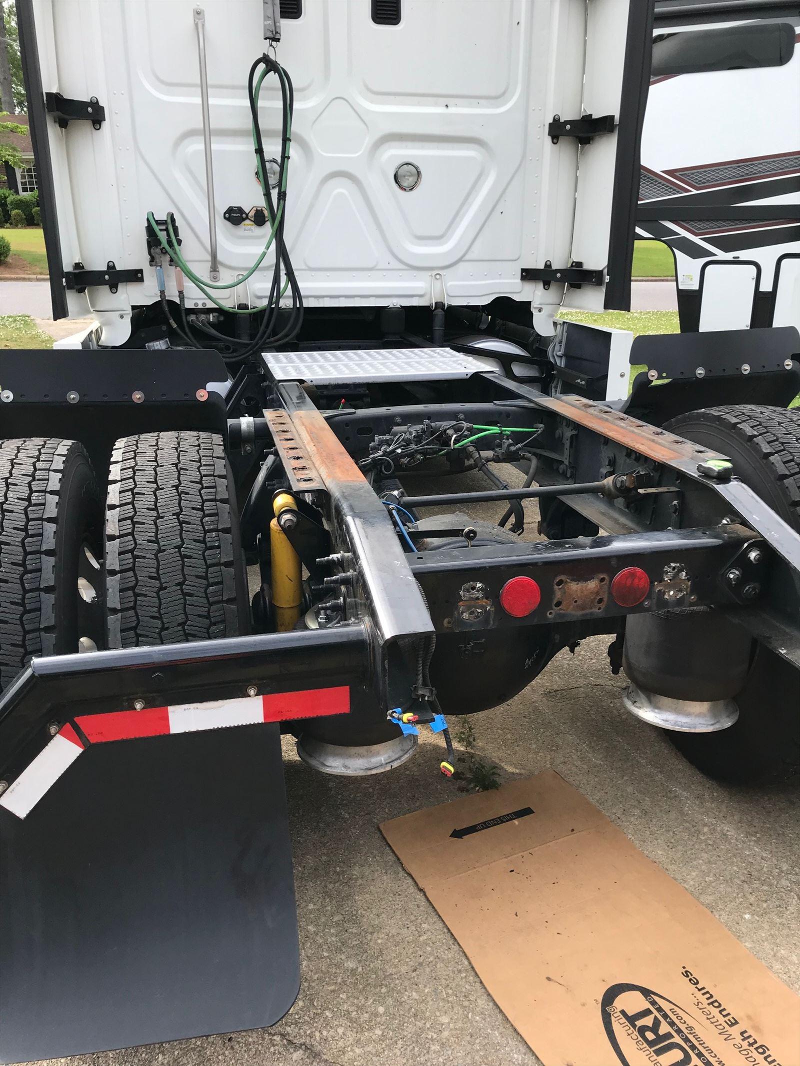 ET Hitch Install - Beginning Photo